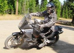 Sport bike riding technique